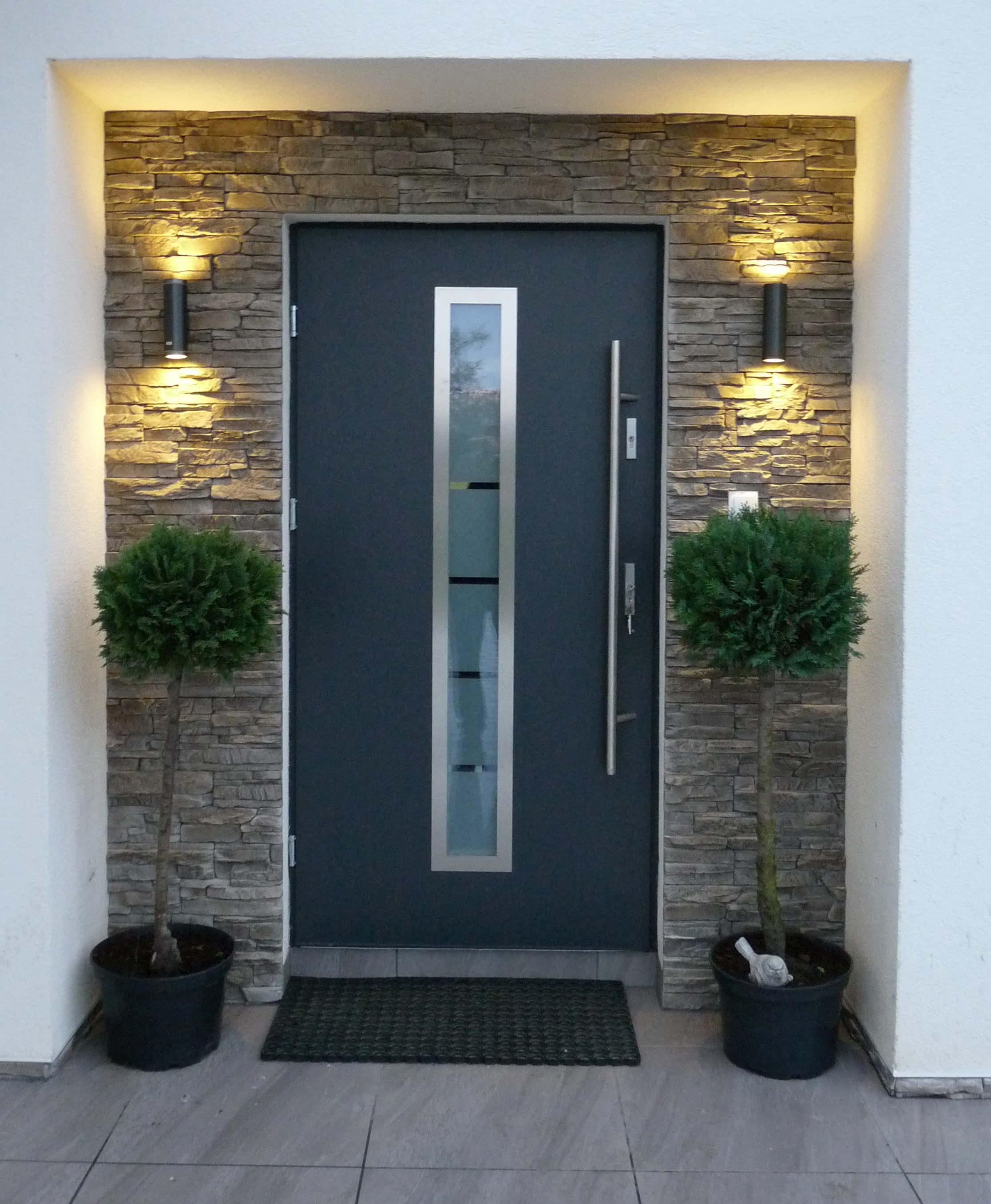 Affordable modern front doors for Affordable exterior doors